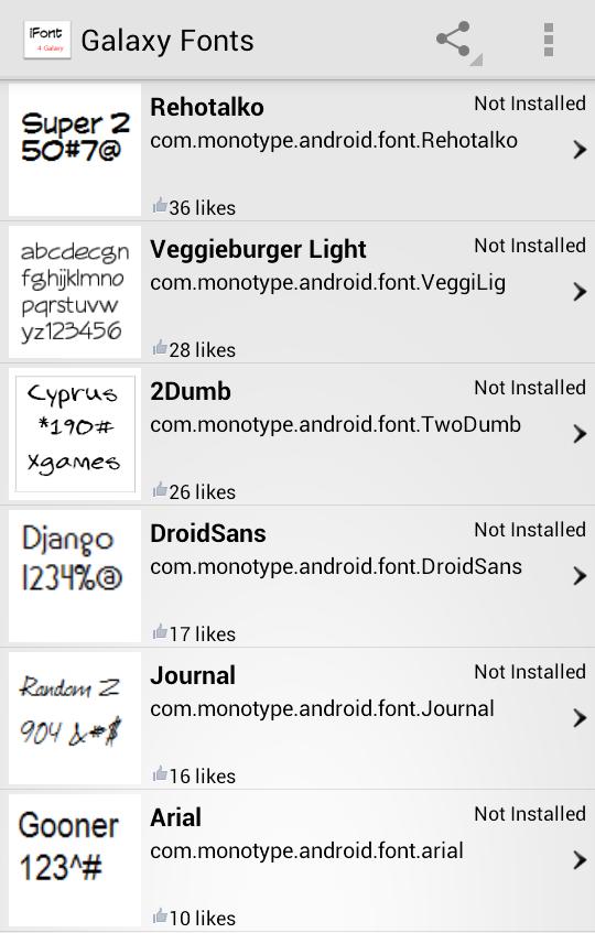 كيف يقوم الجواسيس بالتسلل لجهازك الأندرويد ويخدعونك ويخدعون جوجل معك !! برنامج مزيف لتغيير الخطوط نموذجاً Screenshot2
