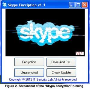 فايروس يتظاهر أنه برنامج لتشفير سكايب